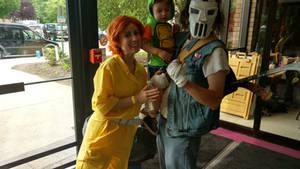 TMNT cosplay family again