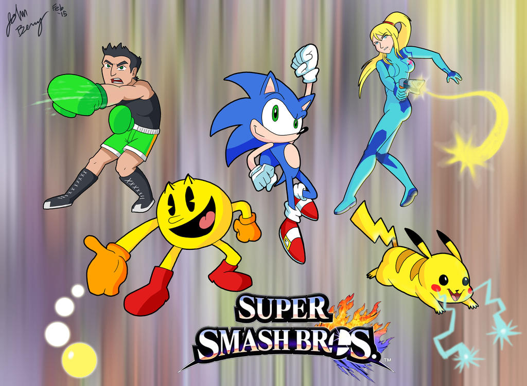 Super Smash Mains by Jeibi