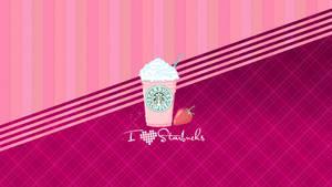 Wallpaper I Love Starbucks by OnlySweetGirl
