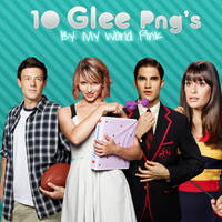 1O Glee Png's by OnlySweetGirl