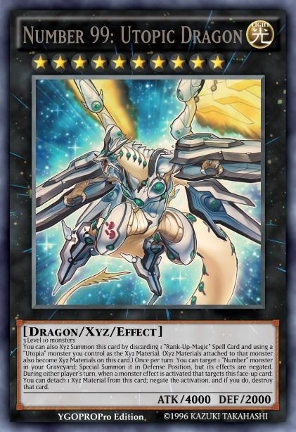 Yugioh Number 99 Universe Dragon Number 99: Utop...