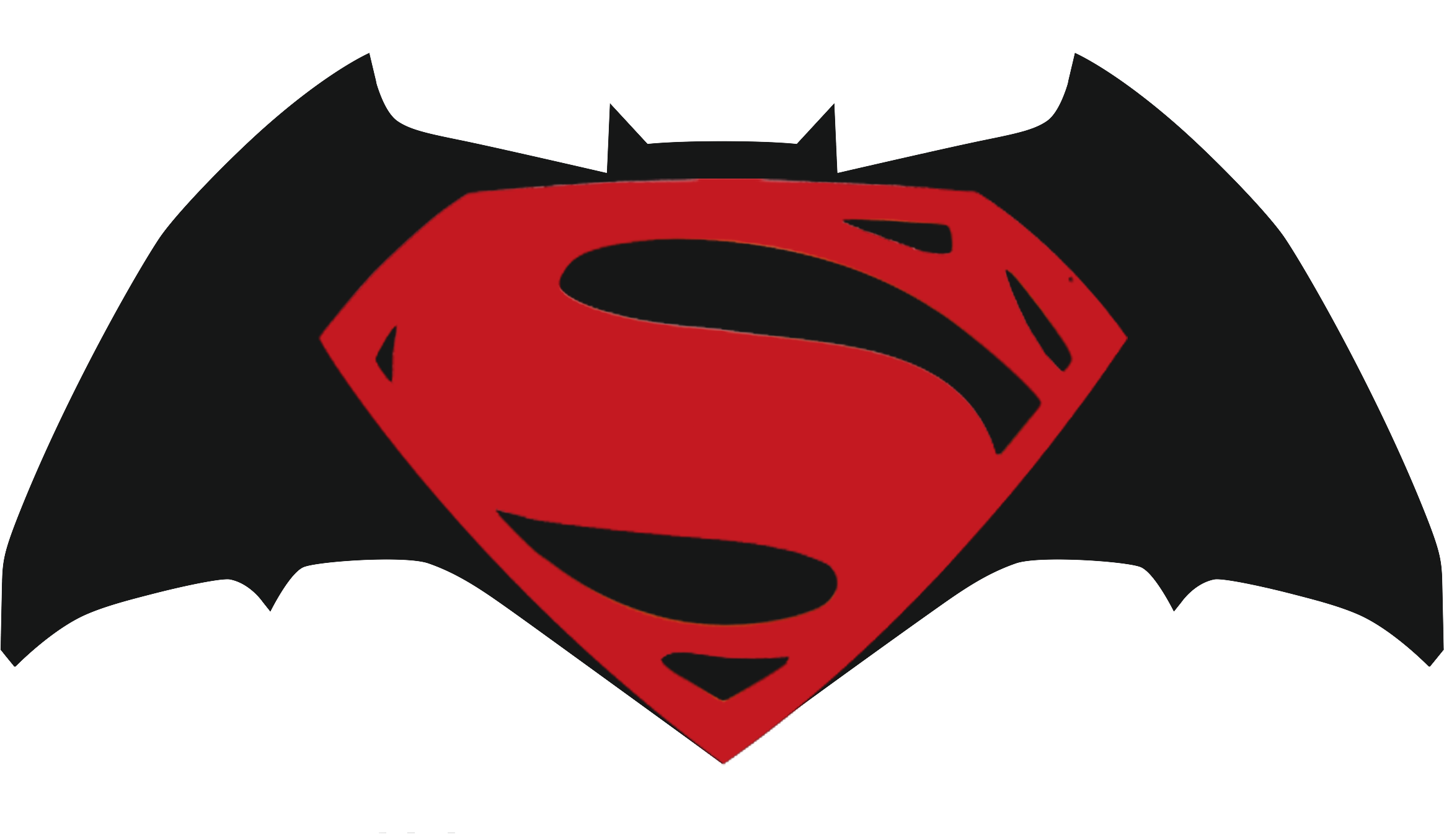 batman v superman logo minimalist by moviesofyalli on