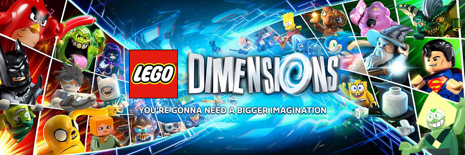 Lego Dimensions Year 3 Banner (Fan Made) by Movies-of-yalli