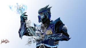 MK Sub Zero Fanart