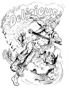 Delirious road runner