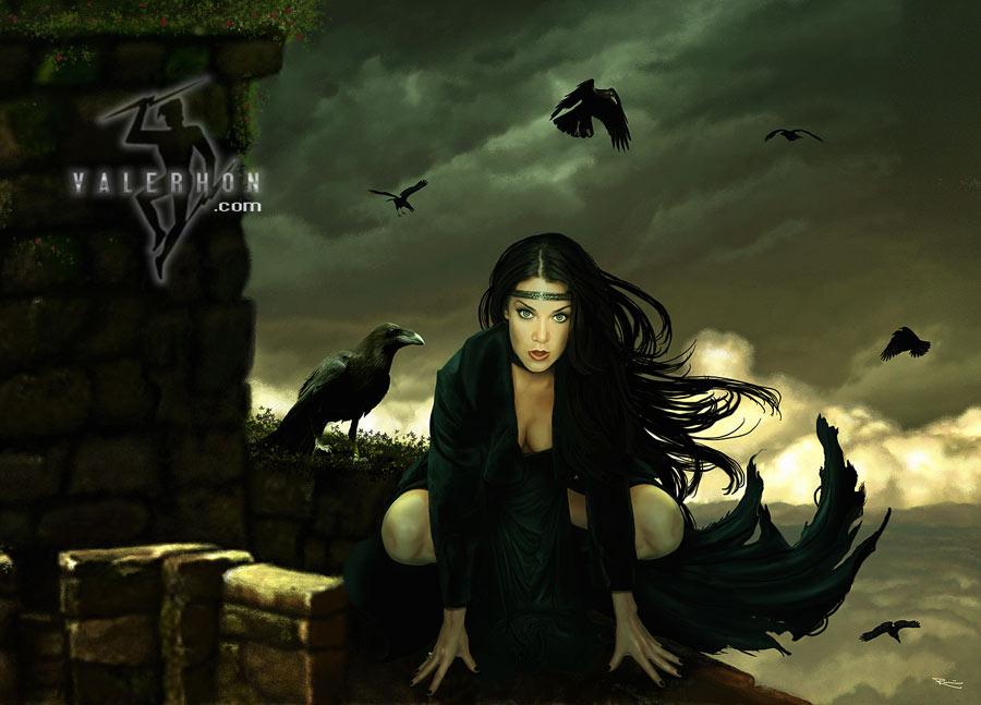 The Morrigan By Valerhon On Deviantart