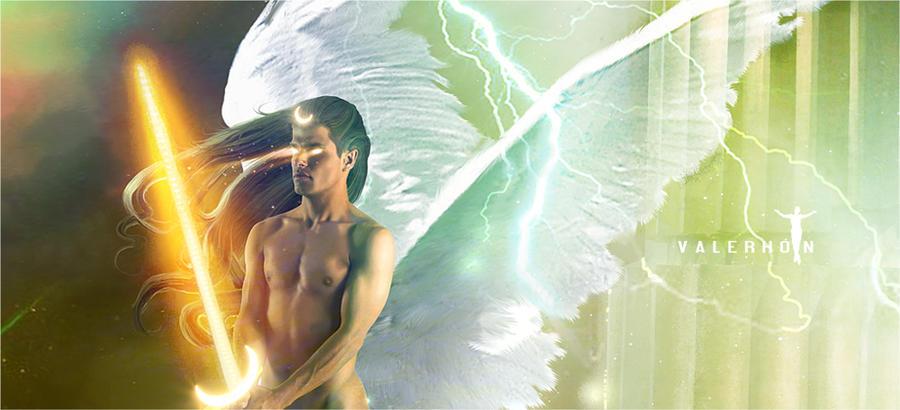 Guardian Angel Detail by Valerhon