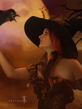 Autumn's Witch Detail