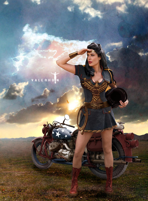 Wonder Woman: Looking Toward Peace by Valerhon
