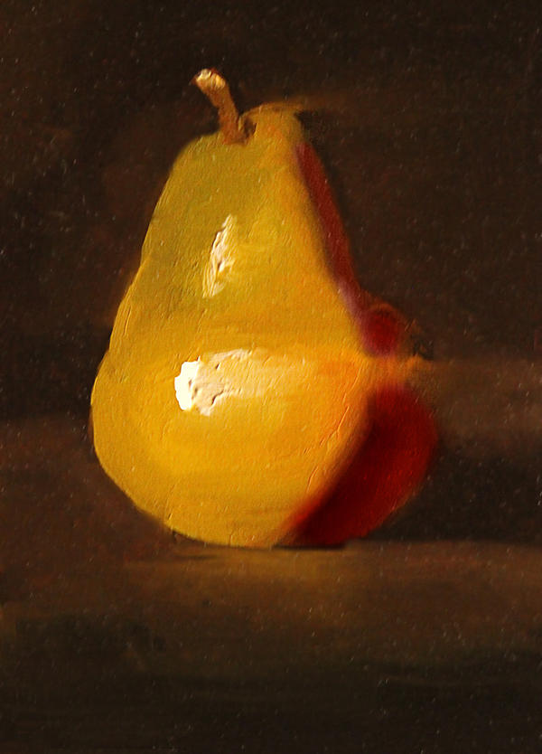 Pear Study by Valerhon