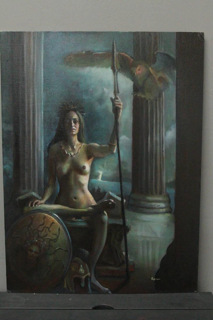 Athena by Valerhon