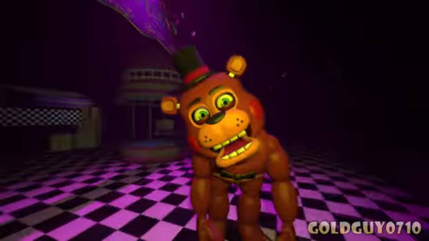 Toy Freddy on the run
