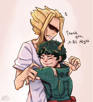 Thank you, All Might.