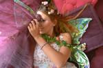 Cheekiness of a fairy by Blossom-Lullabies