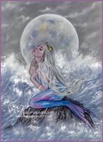 Sirena de la luna by Katerina-Art