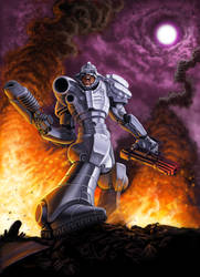 Turrican tribute by FF2D