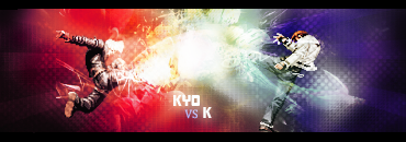 K' vs Ryo Sign by o0Swift