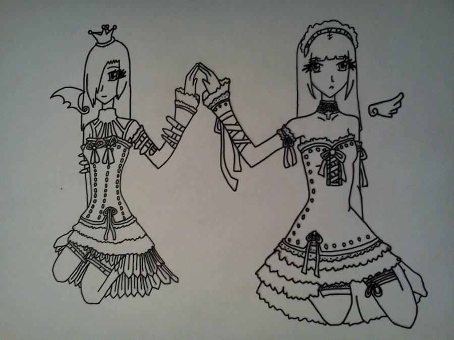 The Winged Sisters by SakuraGirl12