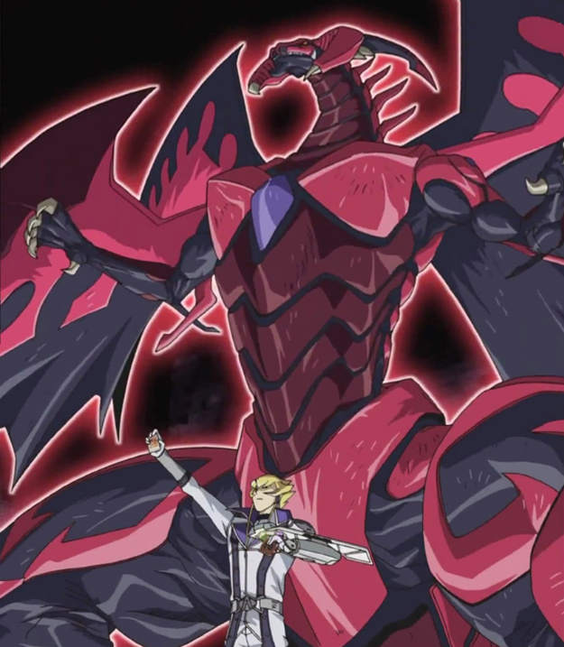 Scar-Red Nova Dragon by jcxtreemYugioh 5ds Red Nova Dragon
