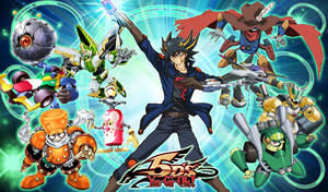 Yusei and his Synchrons by jcxtreem