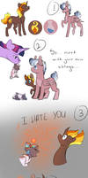 Her perfect family by Arirain