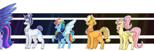 Mane 6 in their 40's