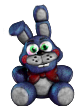 Toy Bonnie Plush (Commision) by fearlessgerm82