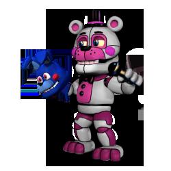 Adventure Funtime Freddy by fearlessgerm82