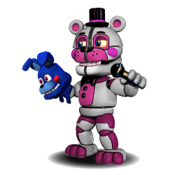 Adventure Funtime Freddy (Face Open) by fearlessgerm82