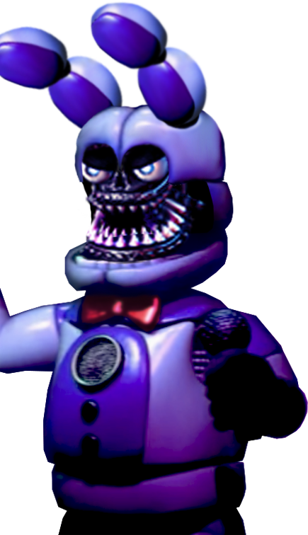 Funtime Withered Bonnie - COMMISSION by fearlessgerm82