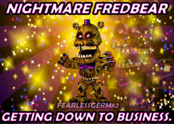 Accurate Adventure Nightmare Fredbear by PrimeYT