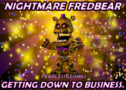 Accurate Adventure Nightmare Fredbear