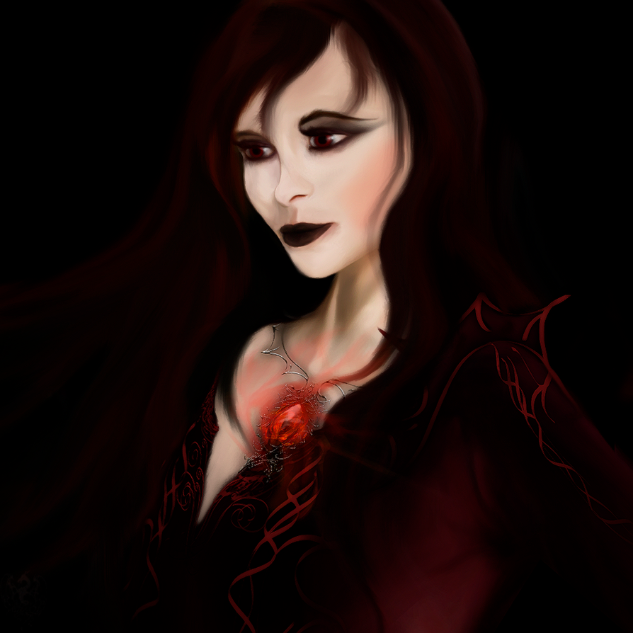 lady vampire by Sathar-Qndy