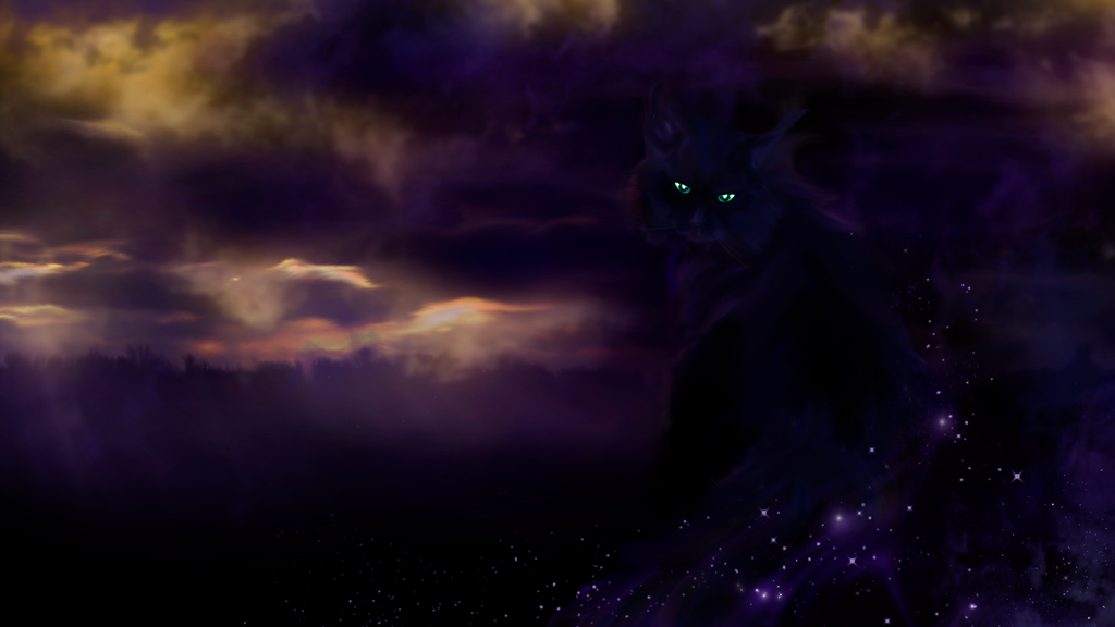 The Black Cat by Sathar-Qndy