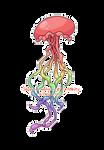 Pixel: Rainbow Jellyfish