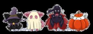 Collab: Halloween Chibi Set 1