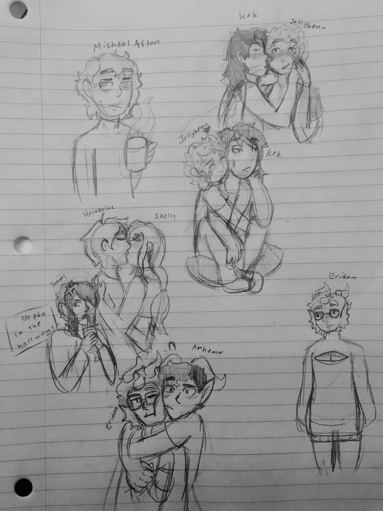 Skkketches by xXSkellyGurlXx