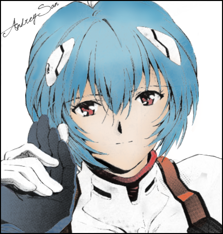 Rei Ayanami Rei_Ayanami_by_Andrey_kun
