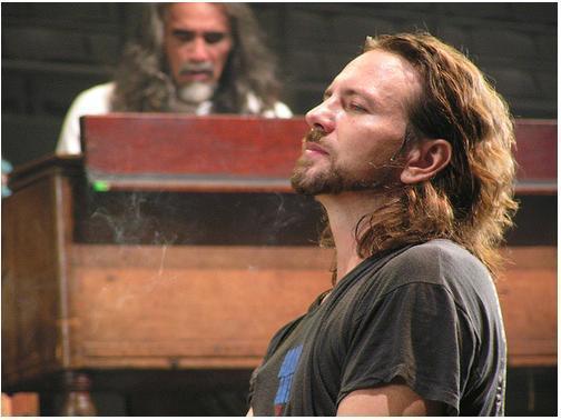 Eddie Vedder by sbluesky