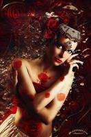My secret garden - Red Rose by umina67