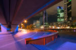 Southbank from Overpass