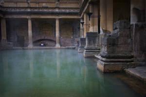Roman baths at Bath by KarlDawson