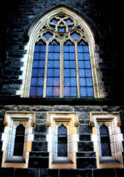 Church Windows by KarlDawson