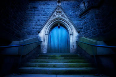 Church Door II by KarlDawson