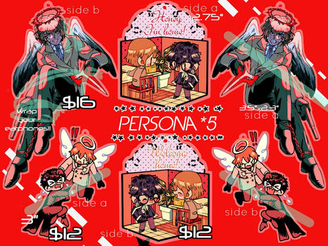 PERSONA 5 CHARMS SALE!!