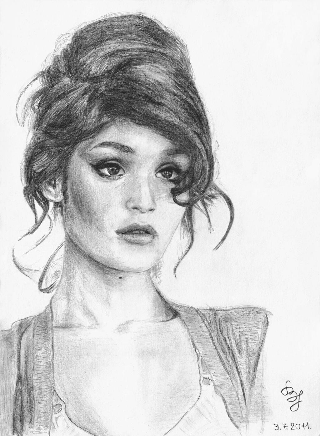 Gemma Arterton by Flajko