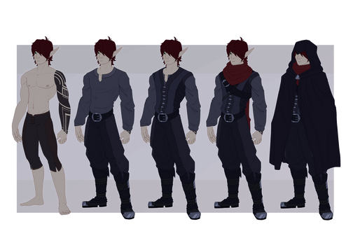 [ref] Rilan | outfit update