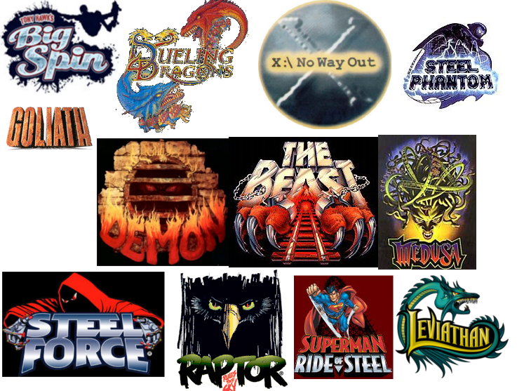 Roller Coaster Logos | www.pixshark.com - Images Galleries ...