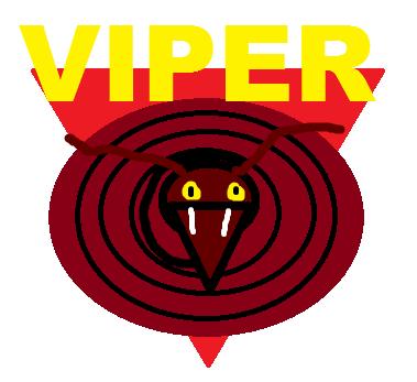 Six Flags Magic Mountain Viper logo by PikachuxAsh