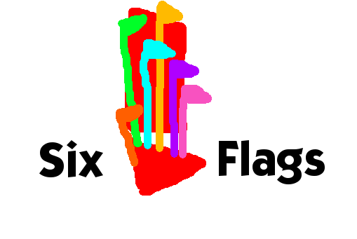 Six Flags logo by PikachuxAsh
